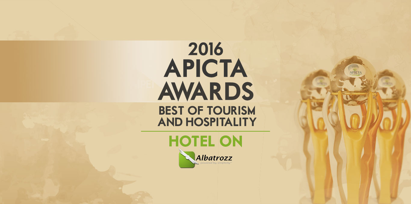 MSC Malaysia APICTA Awards 2016 - Best of Tourism and Hospitality - Hotel On!