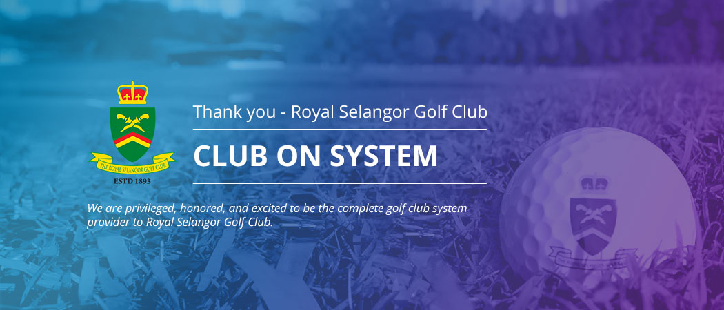 Albatrozz Awarded ROYAL SELANGOR GOLF CLUB System